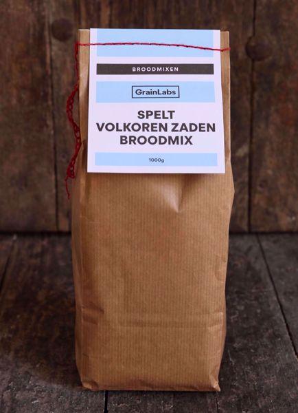 Afbeelding van Spelt  Volkoren Zadenbroodmix (1 kg)