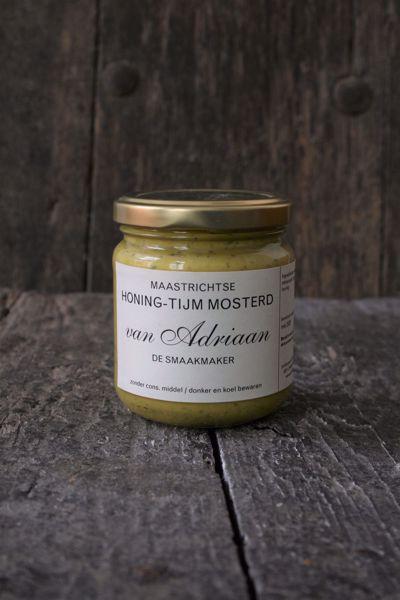 Afbeelding van Honing tijm mosterd van Adriaan de Smaakmaker