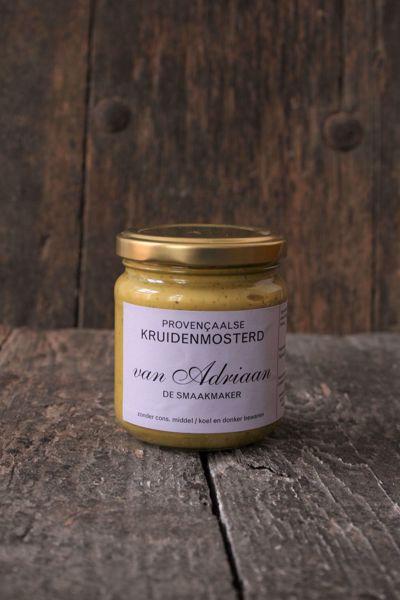 Afbeelding van Provencaalse kruidenmosterd van Adriaan de Smaakmaker