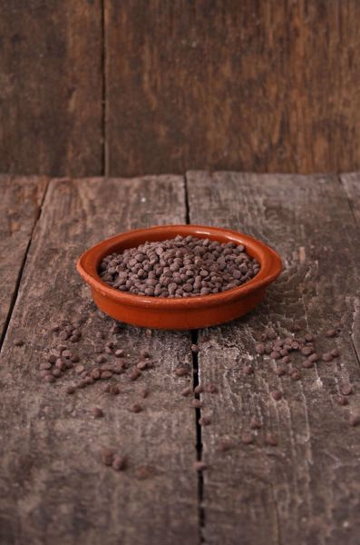 Afbeelding van Chocoladedruppels mini (250 gram)