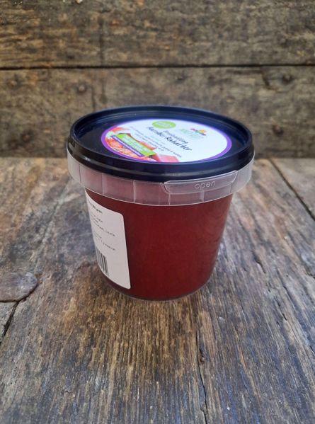 Afbeelding van Fruitvulling Aardbei-Rabarber 350 gram